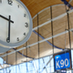 Indoor airport information watch. Departure gates. Travel background. Time. Horizontal - PhotoDune Item for Sale