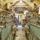 Second war world submarine interior. Engine room. Military vessel. Horizontal - PhotoDune Item for Sale