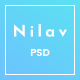 Nilav - Single Page Creative Agency PSD Template
