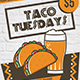 Mexican Tacos Flyer Template - GraphicRiver Item for Sale