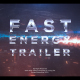 Fast Energy Trailer - VideoHive Item for Sale