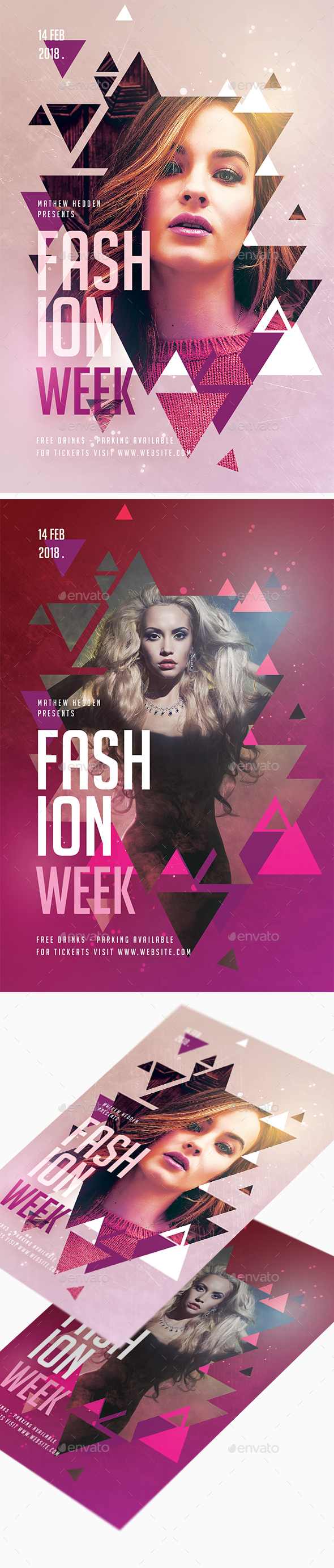 Fashion Week Flyer - Clubs & Parties Events