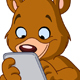 Teddy Bear with Tablet - GraphicRiver Item for Sale