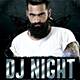 Dj Night Flyer - GraphicRiver Item for Sale