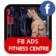 Fitness and Gym Facebook Ads Banner - AR