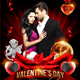 Valentines Day Bash Flyer Template - GraphicRiver Item for Sale