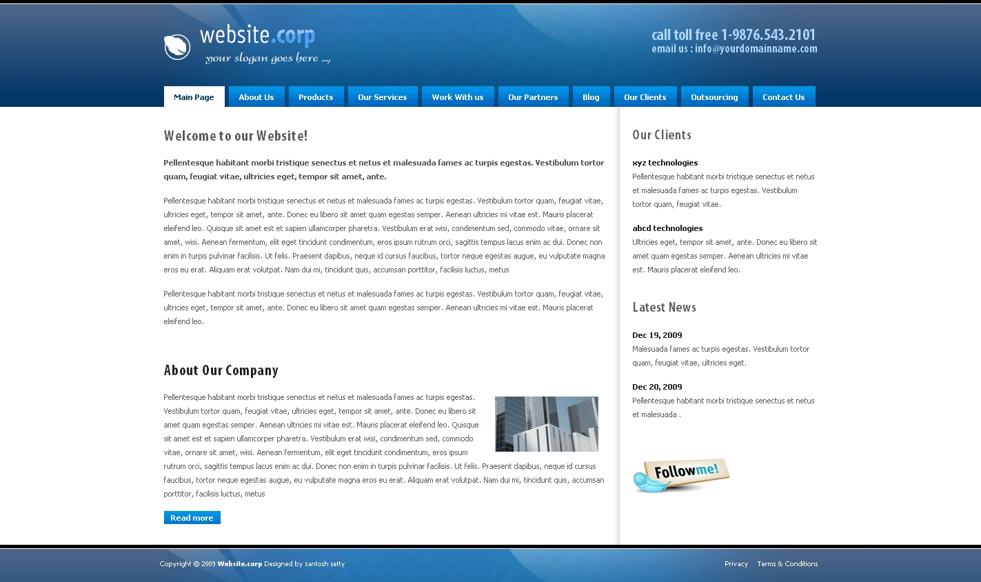 Free Download Website Corp Drupal 6 Theme Nulled Latest Version