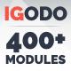 IGODO - Responsive Email with Mailchimp Editor, StampReady Builder & Online Composer