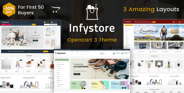 Infystore - Multipurpose OpenCart 3 Theme - Shopping OpenCart