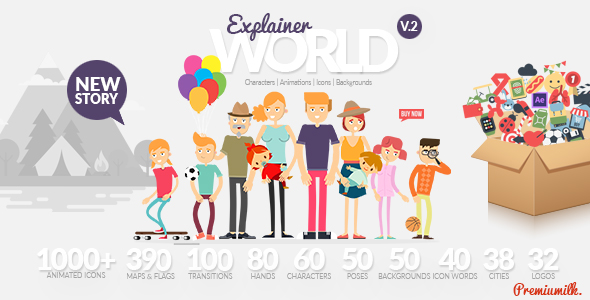 Videohive 21021730 Explainer World Video Toolkit yibrary