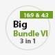 Big Bundle  6 Three in One - GraphicRiver Item for Sale