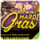 Mardi Gras - Flyer - GraphicRiver Item for Sale