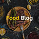 Food Blog Google Slide Template