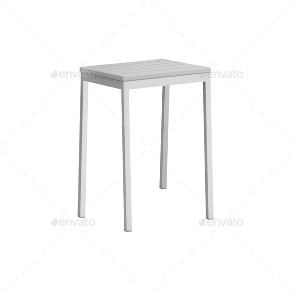 stool isolated on white - Stock Photo - Images