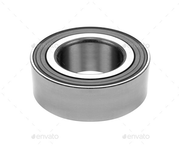 new bearing to the vehicle on a white background - Stock Photo - Images