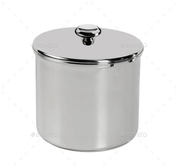 Cooking pot isolated - Stock Photo - Images
