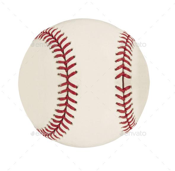 Baseball isolated on white - Stock Photo - Images