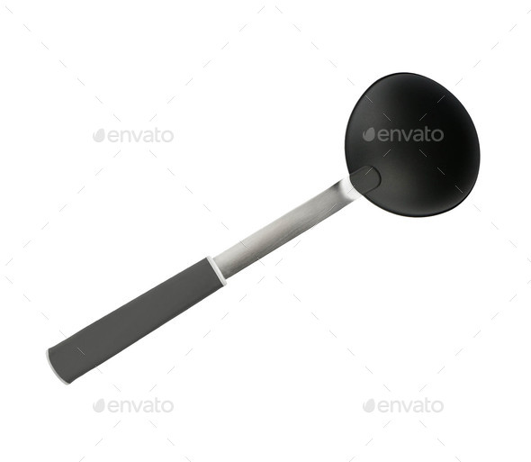 spoon isolated on white - Stock Photo - Images