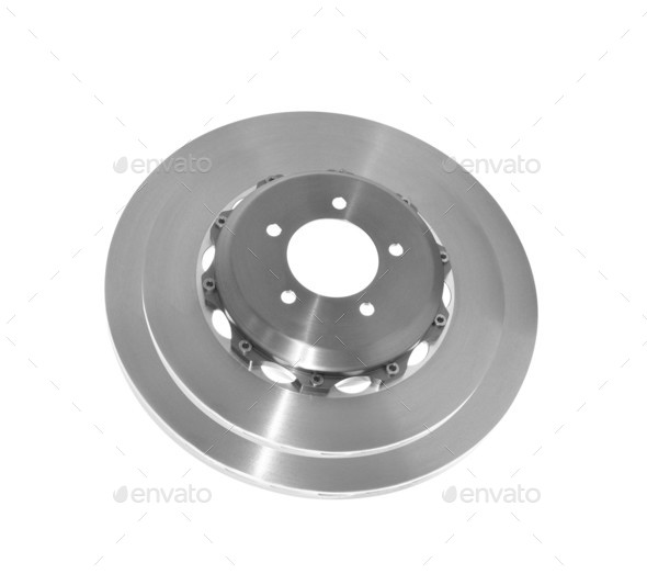 brake disk for the car - Stock Photo - Images