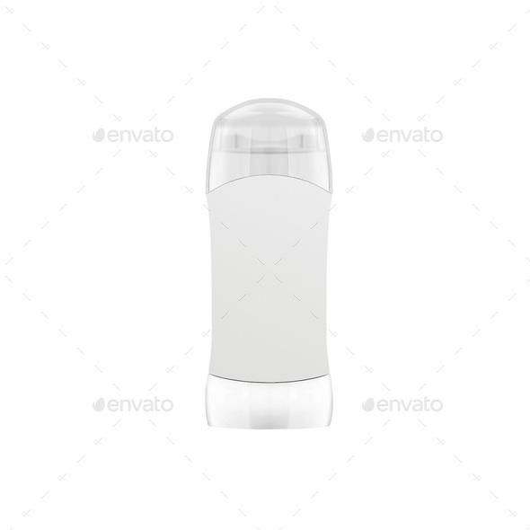 Shampoo bottle isolated on white - Stock Photo - Images
