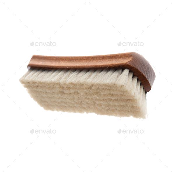 Shoe Brush Isolated - Stock Photo - Images