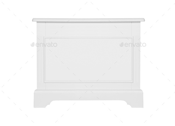 White column isolated - Stock Photo - Images