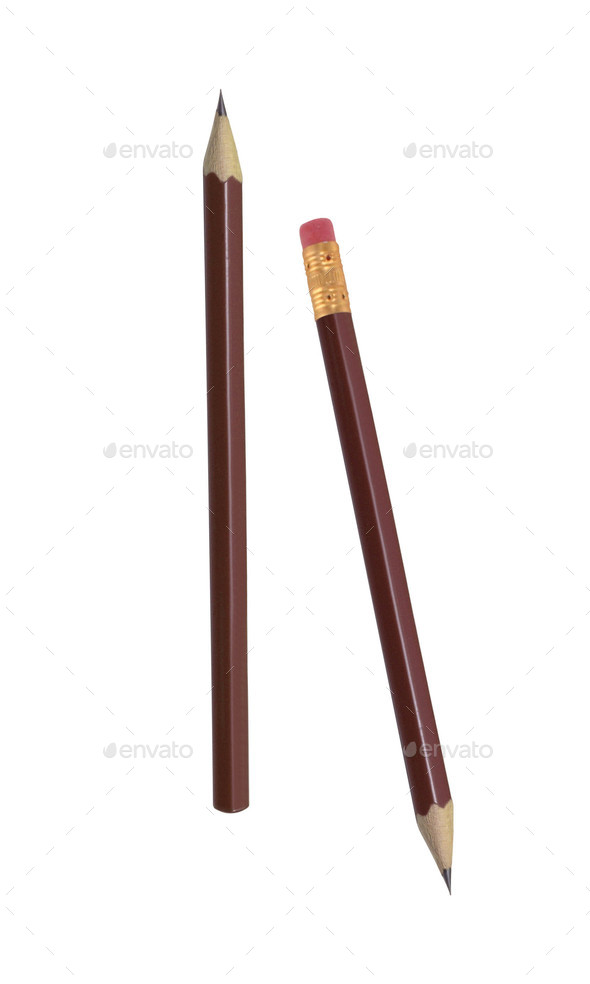 isolated pencil o? white background - Stock Photo - Images