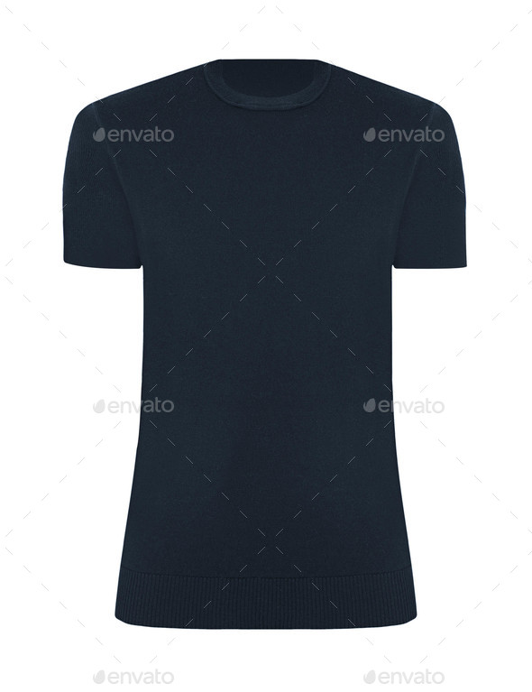 tshirt template isolated - Stock Photo - Images