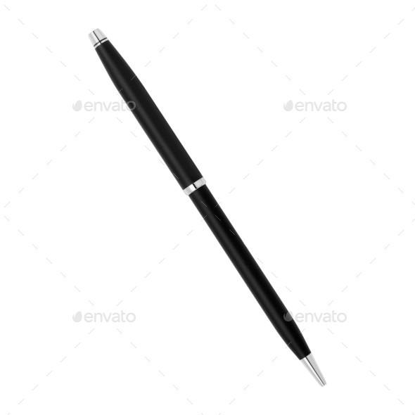 pen isolated on white background - Stock Photo - Images
