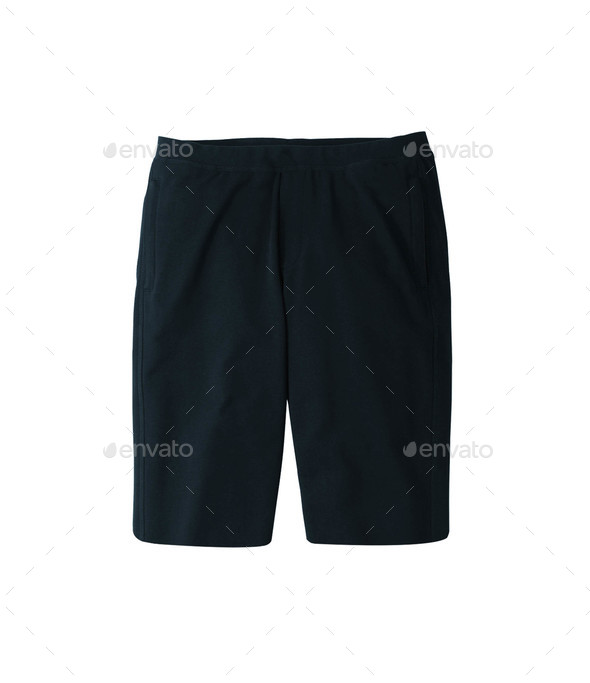 Sport shorts. Isolated on a white background - Stock Photo - Images