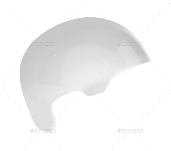 bike helmet isolated - Stock Photo - Images