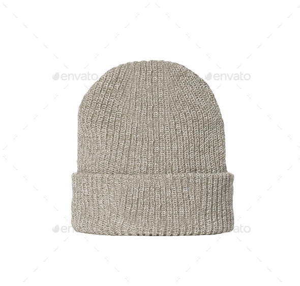 woolen winter hat - Stock Photo - Images