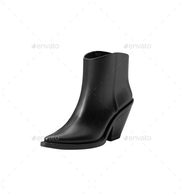 Woman shoes isolated on the white - Stock Photo - Images