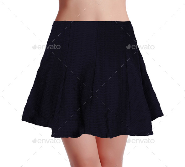 skirt isolated on a white background - Stock Photo - Images