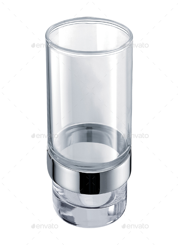 Empty glass for water - Stock Photo - Images