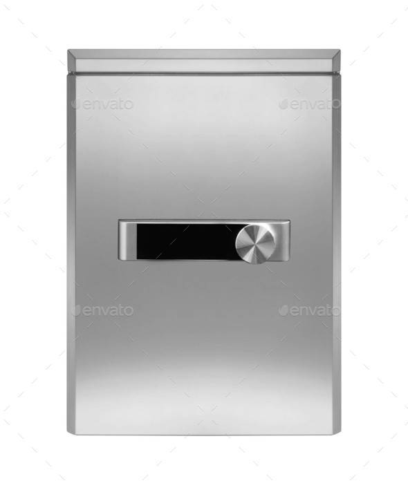 Realistic Steel safe - Stock Photo - Images
