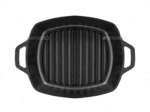 Fat-less Frying pan - Stock Photo - Images