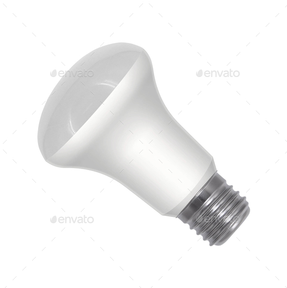 Light bulb isolated - Stock Photo - Images