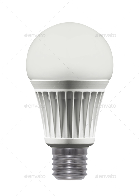 Light bulb, isolated ?? ????? ?????????? - Stock Photo - Images