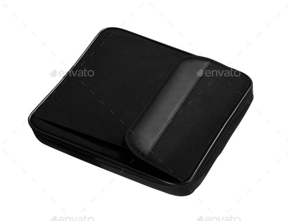 Laptop case isolated - Stock Photo - Images