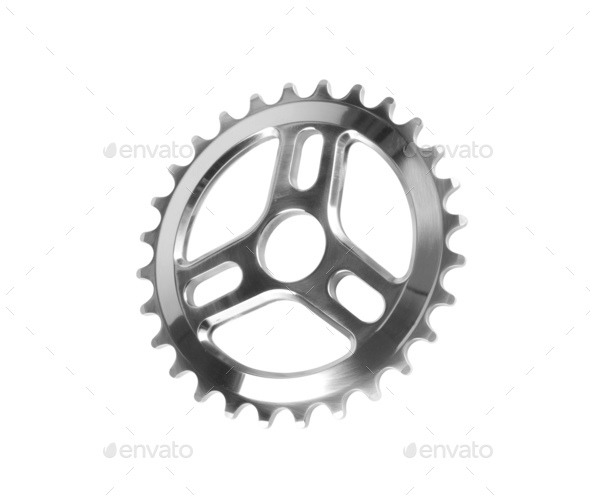Crank set isolated - Stock Photo - Images