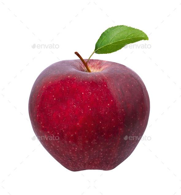 apple isolated on white - Stock Photo - Images