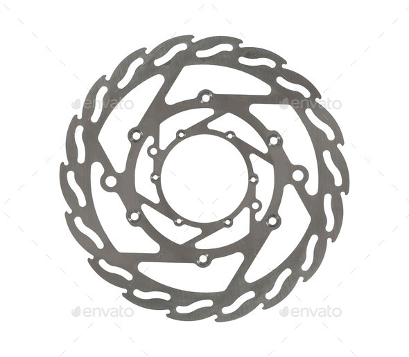 gasket, auto spare part, isolated - Stock Photo - Images