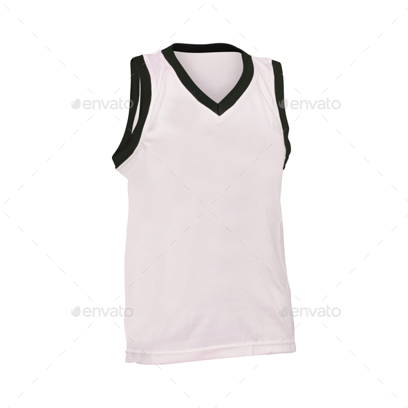 basketball jersey raster isolated - Stock Photo - Images