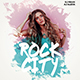 Rock City Party Flyer - GraphicRiver Item for Sale