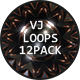 VJ Light Spheres Loops Ver.4 - 12 Pack - VideoHive Item for Sale
