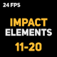 Download Liquid Elements Impacts 11-20 from VideHive