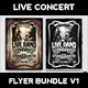 Live Concert Flyer Template V1 - GraphicRiver Item for Sale