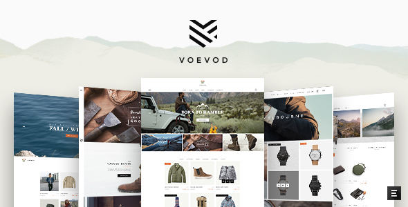 ThemeForest Voevod A Bespoke WooCommerce Theme 21276462