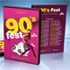 90s Everlasting DVD Cover Template - GraphicRiver Item for Sale